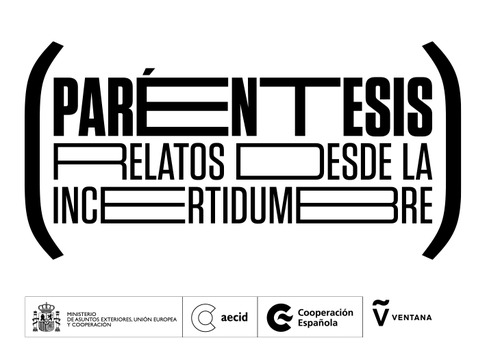 "Afiche del evento ""Convocatoria (Paréntesis. Relatos desde la incertidumbre)"""