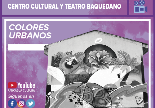 "Afiche del evento ""Microdocumental: Colores urbanos"""
