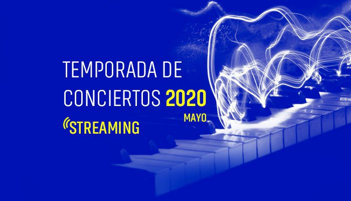 "Afiche de ""Conoce la Temporada de Conciertos vía streaming del Instituto de Música UC"""